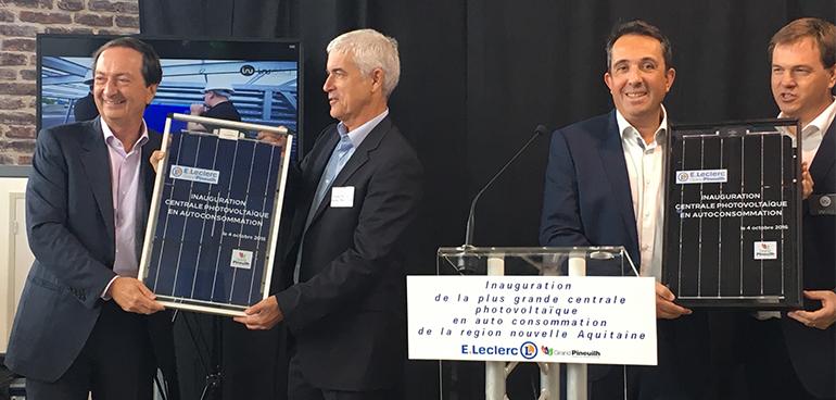 Eleclerc Investit Dans Le Développement Du Photovoltaïque