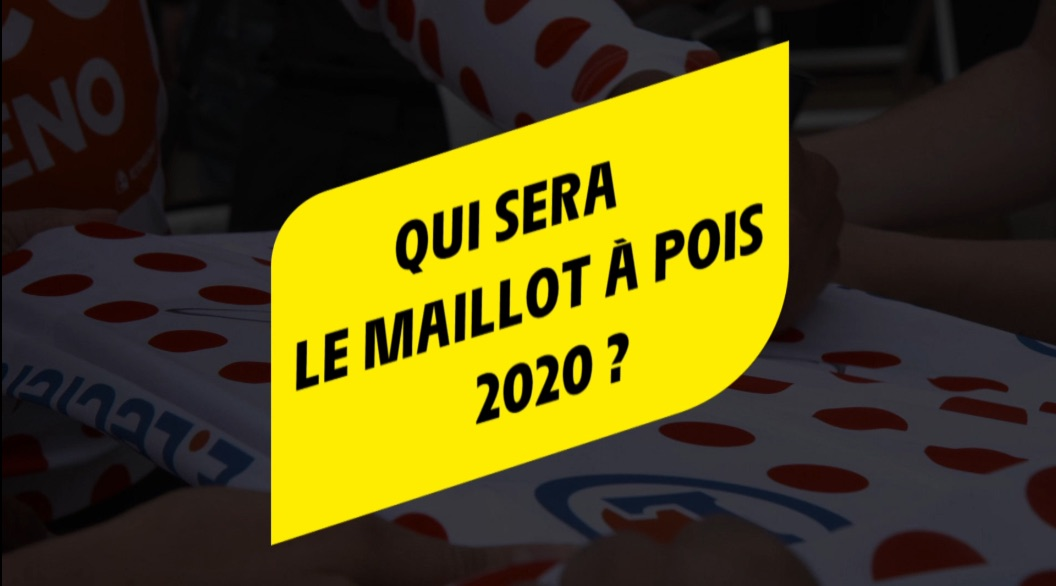 Maillot à pois Tour de France 2020