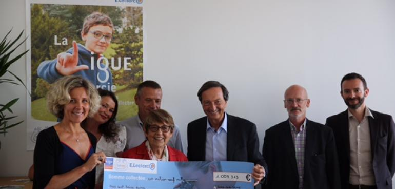 Un million d'euros pour la Ligue Nationale contre le cancer !