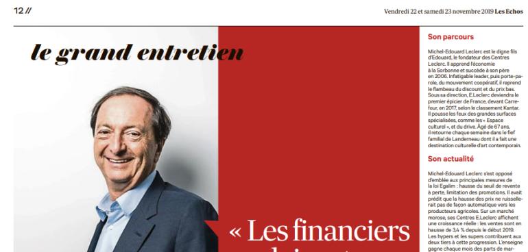 Le Blog De Michel Edouard Leclerc