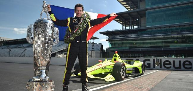 Simon Pagenaud Indianapolis